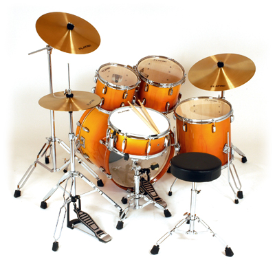 photo of drum set for Are You a Drummer?